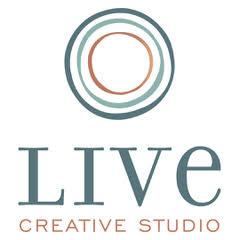 Live Creative Stacked Logo