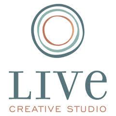 Live Creative Stacked Logo